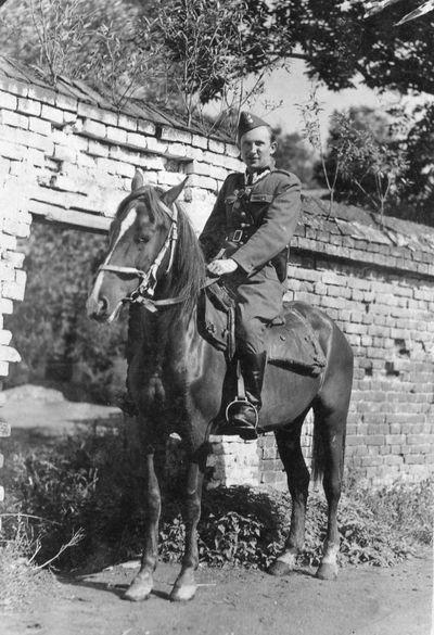 1936-1945. Tadeusz Przybylski (1918-1946) - lekarz weterynarii w Iwkowej