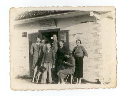 1939. Sklep Spółdzielni Pomoc Bratnia Korytnica