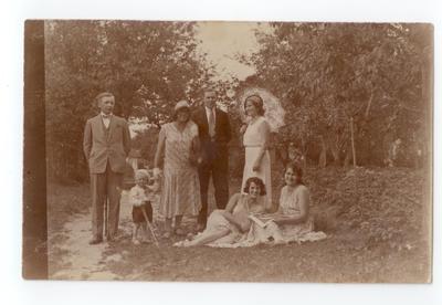 1918-1939. Fotografia pamiątkowa we Włodzimierzu Wołyńskim