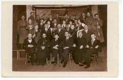 1920-1939. Uczestnicy akademii 11 listopada w Gozdowie