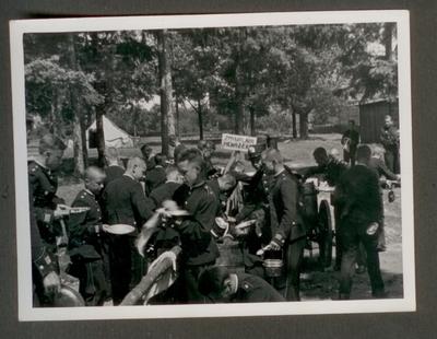 1938. Obóz letni Korpusu Kadetów we Lwowie