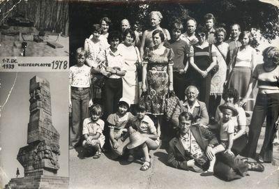 1978. Wycieczka na Westerplatte