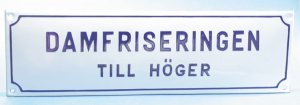 NN - DAMFRISERINGEN TILL HÖGER
