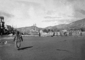 Damascus, Blick nach Hedschas-Bahnhofsplatz