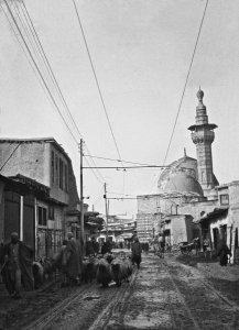 Damascus, Hauptstraße nach Caden, Blick Stadtwärts