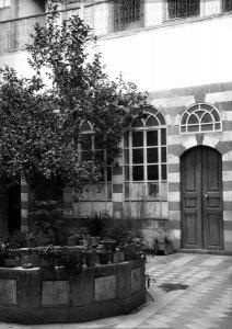 Damascus, Hof des Hauses von Pfarrer Hansen