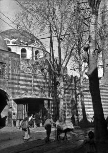 Damascus, Straßenbild an der Hauptstraße