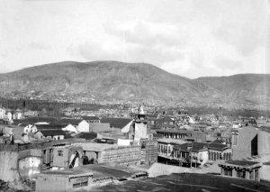 Damascus, Blick auf die Stadt, Stadtberg