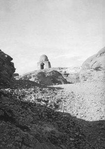 Damascus, Abels Grab, Höhe vom Rand des Antilibanon