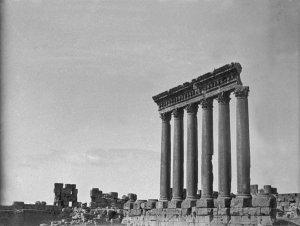 Baalbek, Die großen Säulen, 20 m hoch