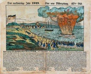 Untergang des Schiffes Christian VIII.