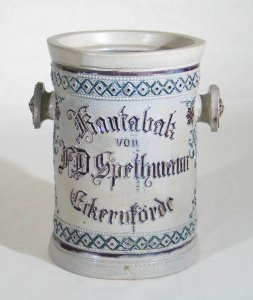 Kautabak von F.D.Spethmann Eckernförde