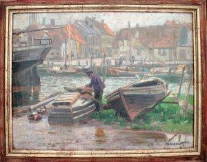 Boote im Eckernförder Hafen