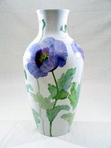Blaue Mohnblumen