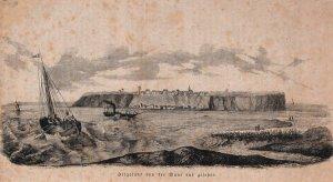 Helgoland von der Düne aus gesehen