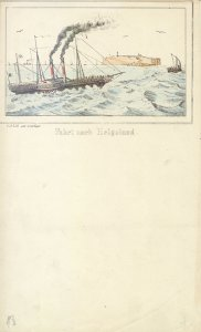 Fahrt nach Helgoland