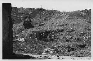 Helgoland - Blick auf die Schutthalde