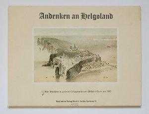 Andenken an Helgoland