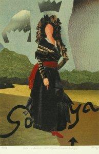 Die schöne Herzogin (nach Goya)