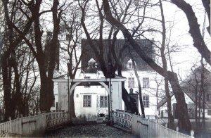 Hoyerswort - Fotografie der  Zugbrücke (um 1910)