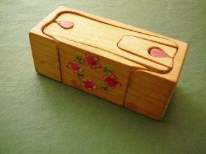Holzpuzzle, handgemacht