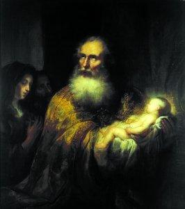 Simeon im Tempel