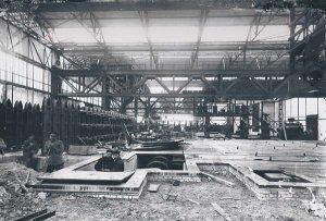 Ausbau der Eisenhütte Holstein