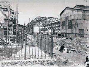 Erweiterung  der Eisenhütte Holstein