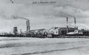 Stahl- und Walzwerk Eisenhütte Holstein um 1905