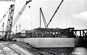 Gutehoffnungshütte1956, Bau der Bohrinsel Adam Enterprise