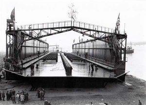 Gutehoffnungshütte1954, Schwimmdock