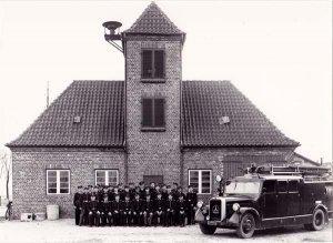 Dorfstr.9, Freiwillige Feuerwehr am alten Feuerwehr-Gerätehaus