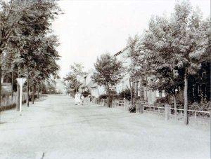 Dorfstrasse, Ansicht von 1959
