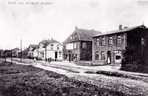 Alte Dorfstrasse um 1910