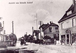Dorfstrasse um 1925