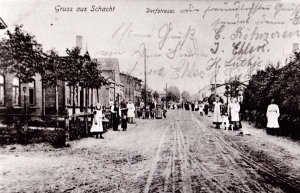 Dorfstrasse um 1904