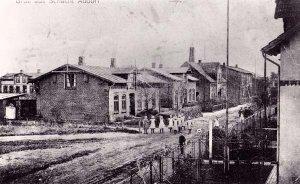 Dorfstrasse um 1912
