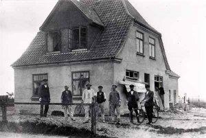 Dorfstrasse 46 um 1908, Konsumverein La nge