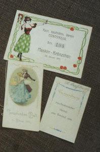 Tanzkarte