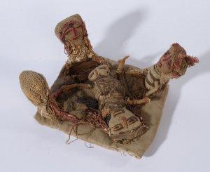 Chancay-Puppe, Geburtsszene