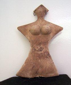 Alabaster-Figur