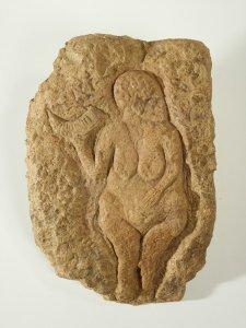 Venus von Laussel Steinrelief