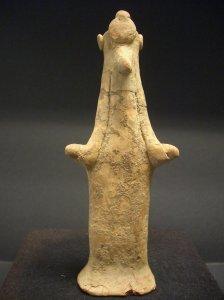Idol entspricht Papades, böotische Sonderform des 6. Jh. v. Chr.
