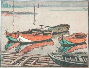 Boote in Altenwerder