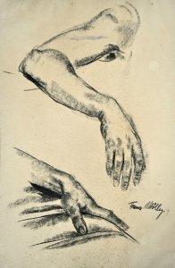 Handstudien f. Bild Niederschlema