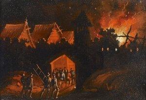 Brennendes Dorf II