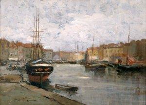 Hafenszene/ Harbour Scene