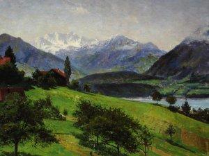 o.T. (Aus den Alpen)