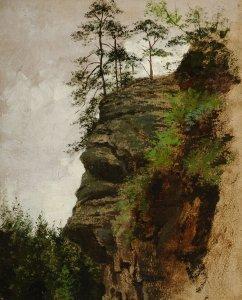 Felsen in der Sächsischen Schweiz
