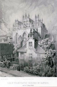 Die St.-Trinitatis-Kirche in Danzig